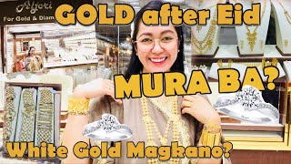 PRESYO NG WHITE GOLD MAGKANO? GINTO AFTER EID FEAT.ALJORI FOR GOLD SHOP | Rosh Castillo