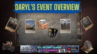 Daryl Dixon's Event Overview from PTR | SOS x The Walking Dead Collaboration screenshot 1