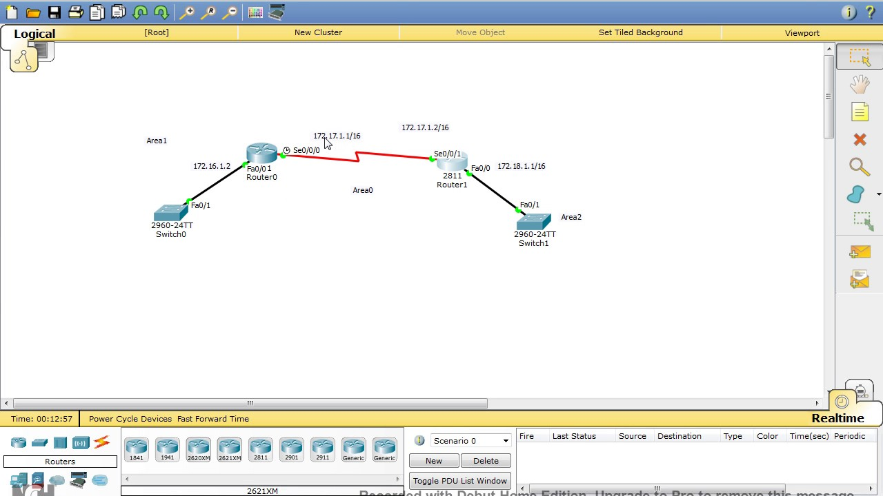 OSPF Non broadcast Multi access Network (NBMA) For basic Frame Relay ...