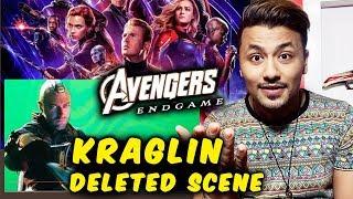 Avengers Endgame | Kraglin's Scene Got CHOPPED From Final Cut