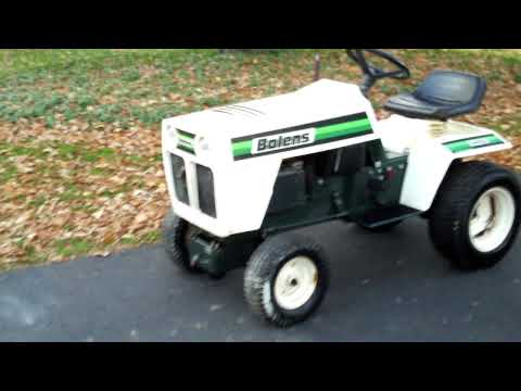 Bolens 1402 Eliminator YouTube – Lawn Tractor Wiring Diagram Bolens 1400 Eliminator