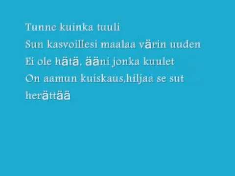 Stella ¨Aamun Kuiskaus¨ (With Lyrics)