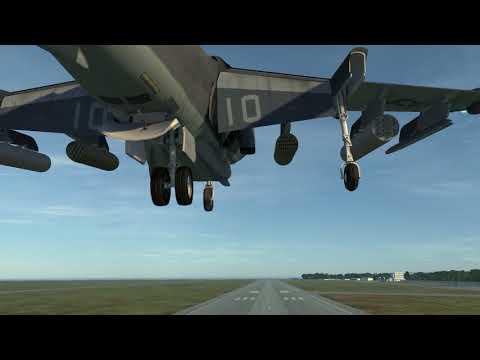 DCS: AV-8B N/A VTOL by RAZBAM- first vertical takeoff (DCS World OpenBeta 1.5.8)