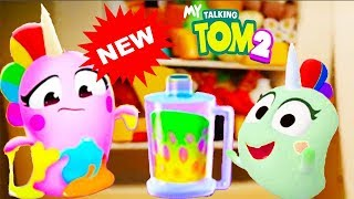 My Talking Tom 2 Sugar Pet Eat vs Sugar Pet Sing and Play - Top Funny Moments Compilation