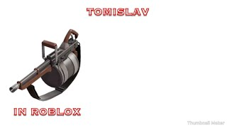 Lets play ROBLOX (Team Fortress 2 vs) tomislav and golden frying pan
