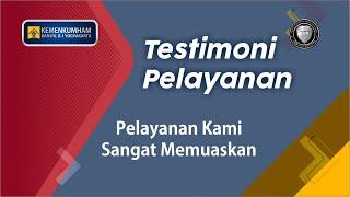 [TESTIMONI] Pelayanan di Kanwil Kemenkumham D. I. Yogyakarta Sangat Simple!