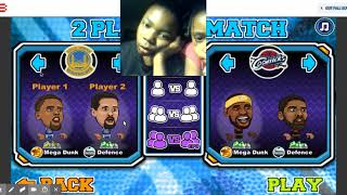 Basketball Legends Game Play Online At Y8 Com Google Chrome 1 19
