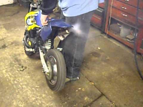 2002 Husqvarna 50cc Husky Boy JR Motocross Bike REV UP