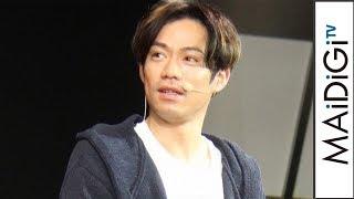 高橋大輔、部屋着風衣装に「パジャマですみません」 三菱自動車「NIGHT SHOWROOM」発表会1