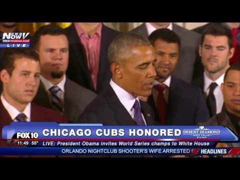 FULL: President Obama Honors 2016 World Series Champions Chicago Cubs To White House