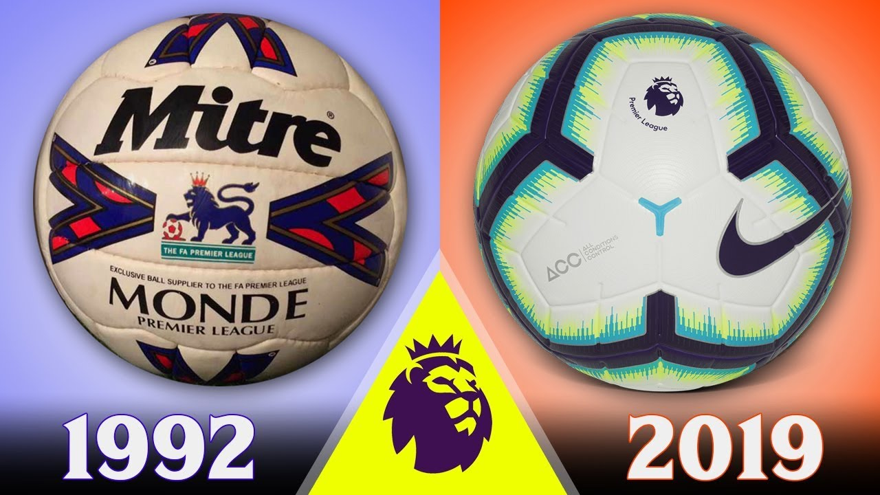 All of The Premier League Official Balls From 1992 to 2019