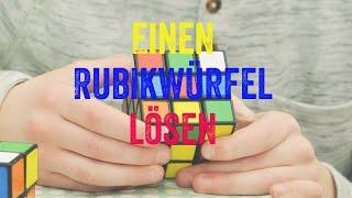 Hilfreiche Anleitungen für Sachen: Einen Rubikwürfel lösen