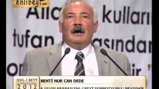 BENTİ NUR CAN DEDE 4  ULUSLARARASI EHL İ BEYT SEMPOZYUMU