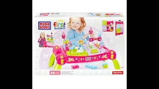 First Builders Lil' Princess – Märchen-Bautisch von Mega Bloks