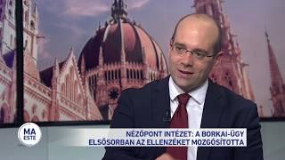 Nézőpont intézet: a Borkai-ügy elsősorban az ellenzéket mozgósította