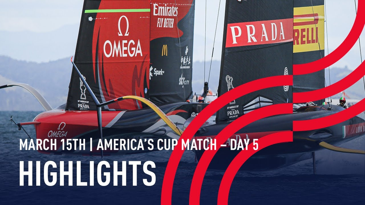 36th America's Cup Day 5 Highlights