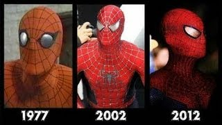 Spider-man All movies 1977, 2002, 2012- Spiderman-  [Compilation movies]- El hombre araña.