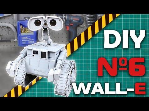 Собираем робота WALL-E на радиоуправлении (6 часть)