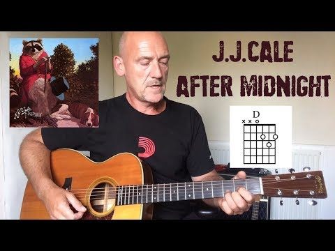 JJ Cale - After Midnight - Guitar lesson by Joe Murphy