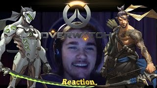 MonkeeMan Reacts to Overwatch 'Dragons' Animated Short Film!!!!