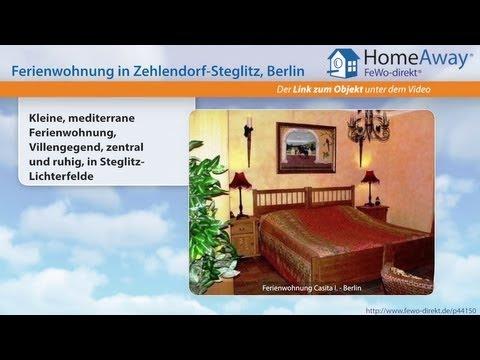 Berlin: Kleine, Mediterrane Ferienwohnung, Villengegend, Zentral Und Ruhig - FeWo-direkt.de Video