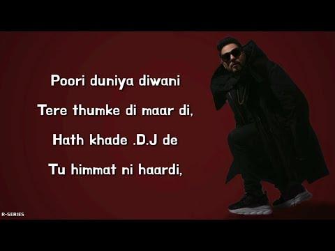 She Move It Like (Lyrics) - Badshah | Warina Hussain
