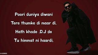 She Move It Like (Lyrics) - Badshah | Warina Hussain.mp3
