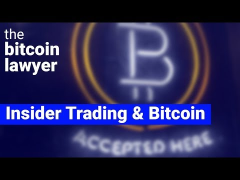 Insider Trading Laws & Cryptocurrency Trading