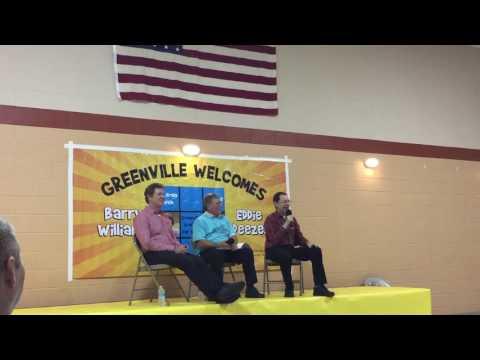 Barry Williams & Eddie Deezen at Greenville Graffiti