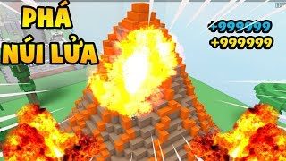 Roblox | Become Super Rich When Volcanic Lagoon | Destruction Simulator | MinhMaMa