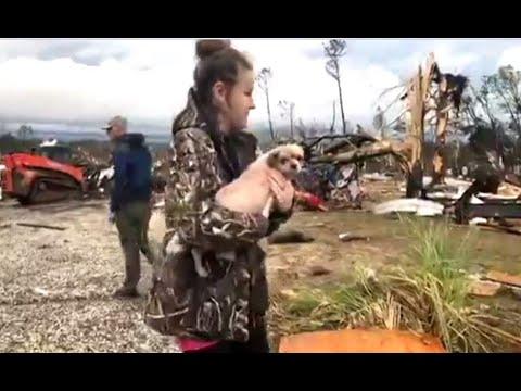 Más de 20 muertos, entre ellos menores, por un tornado en Alabama