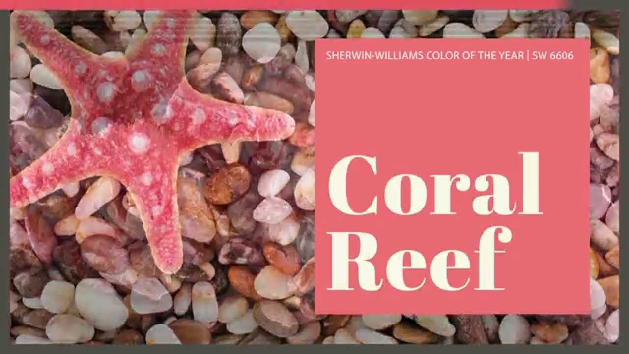 Coral Reef Paint Color Color Of The Year Coral Reef Sw 6606 By Sherwin Williams