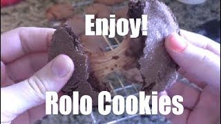 🍪 Rolo Cookies | A Chocolate Cookie Recipe | SteveMiller.Co