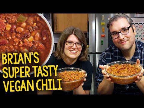 Recipe: Brian's Super Tasty Vegan Chili (Plant-Based, Oil-Free)