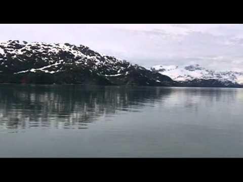 Alaska VLOG Mariner's Tune improvised Northern Spirit Flute w Time Lapse Glacier Bay