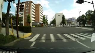 ドライブレコーダ dry fh220m 1080p hd 市街地昼間