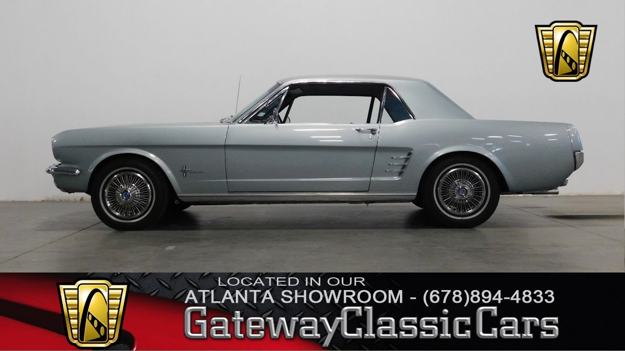 1966 Ford Mustang Convertible - Gateway Classic Cars of Atlanta #296 ...