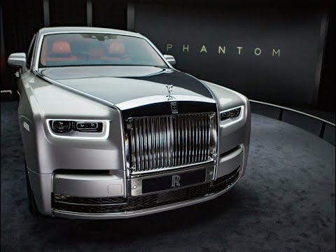 The all new Rolls Royce Phantom is a modern private jet for the road