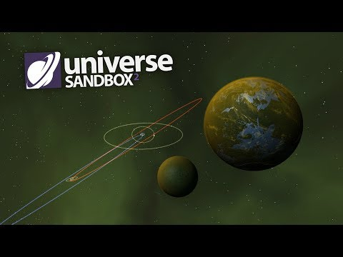 Making A Solar System Out Of Hazel Green Objects, Universe Sandbox ²