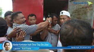Mantan Kombatan Aceh Timur Tinju Eks Libya