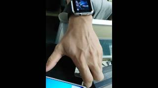 bluetooth smart watch a9s for apple iphone ios android smart phone