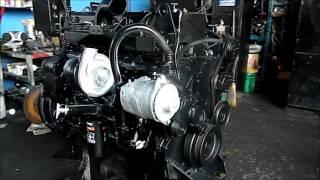 Motor Cummins ISM equipado con campana para trompo o revolvedora, i...