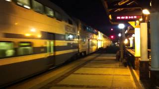 Coaster Unit 2105 Pushing Metrolink 606