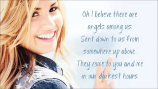 Demi Lovato   Angels Among Us Audio + Lyrics New Song 2012