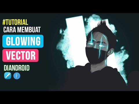 Cara Membuat Vector Glow in the Dark Style diAndroid | Infinite Design thumbnail