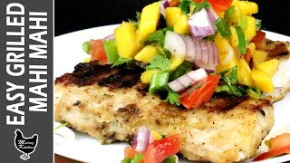 HOW TO MAKE FRIED MAHI MAHI FISH | Grilled Fish Recipe