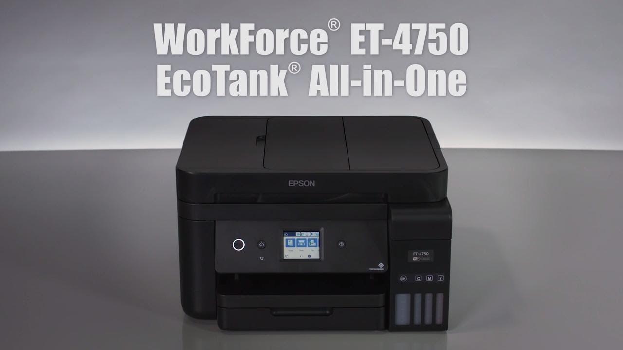 Epson WorkForce ET-4750 | Take the Tour