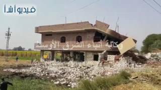 بالفيديو:حملات أمنية على قرية البلابيش تزيل منازل مخالفة لتجار الأسلحة والعناصر الخطرة