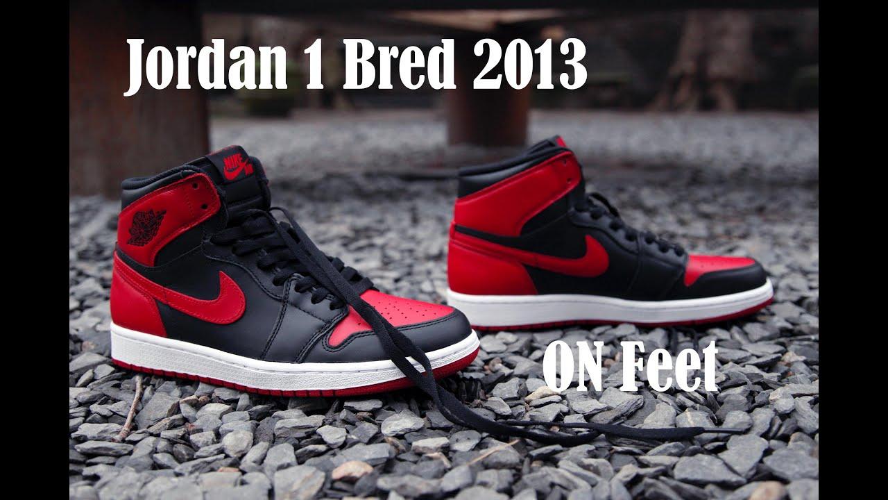 2013 air jordan bred 1
