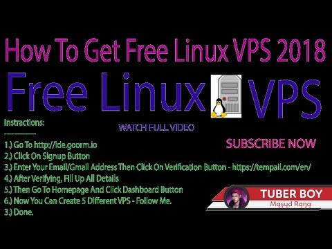 How To Get Free Linux VPS Without Credit Card And 100% Legal (Proved) 2018